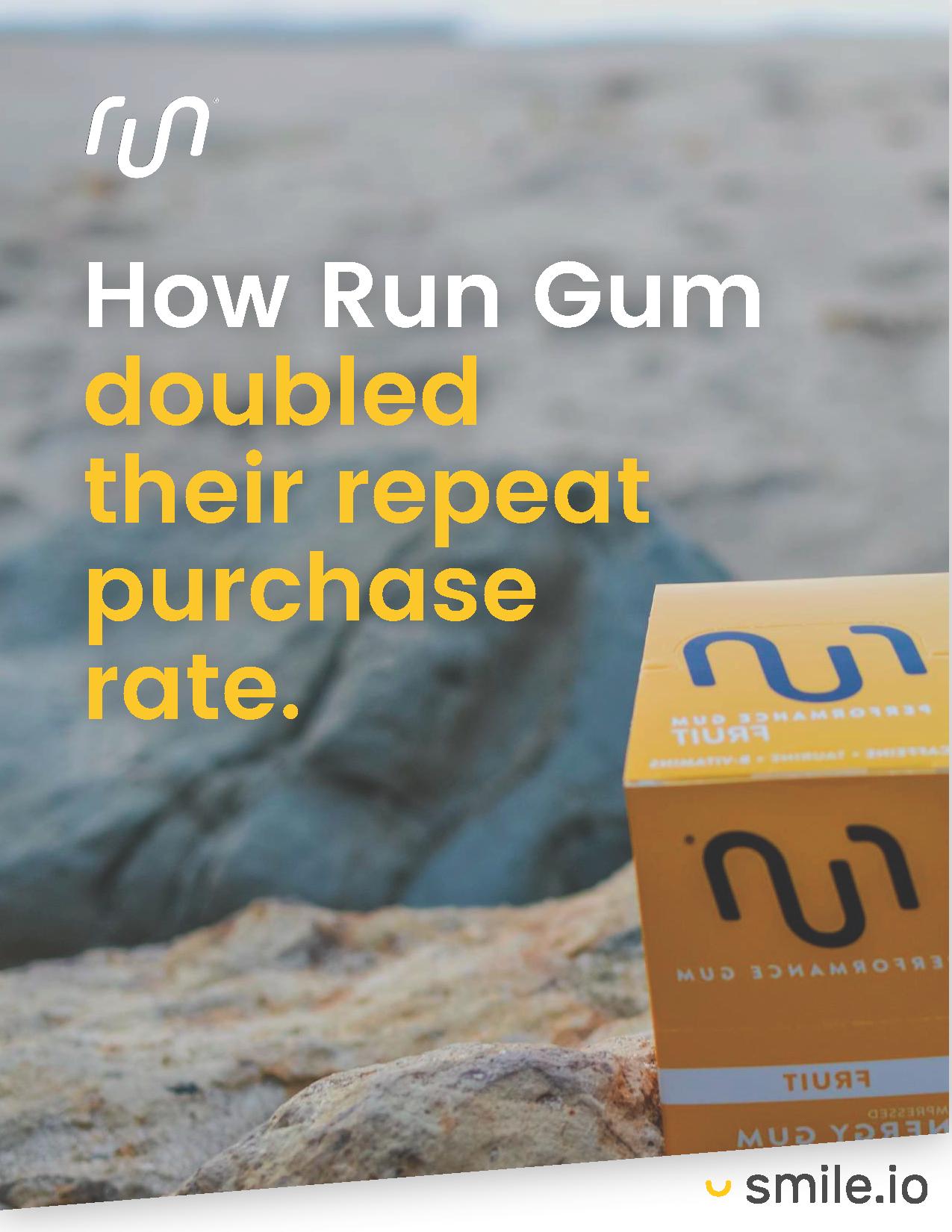 Shopify Case Study: Run Gum
