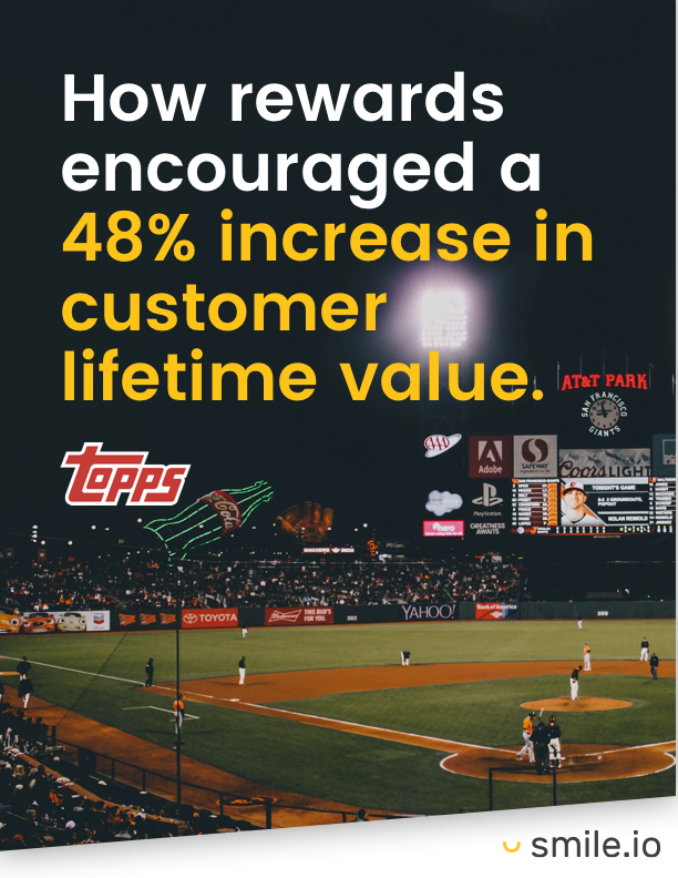 Case Study: Topps, How rewards encouraged a 48% increase in customer lifetime value